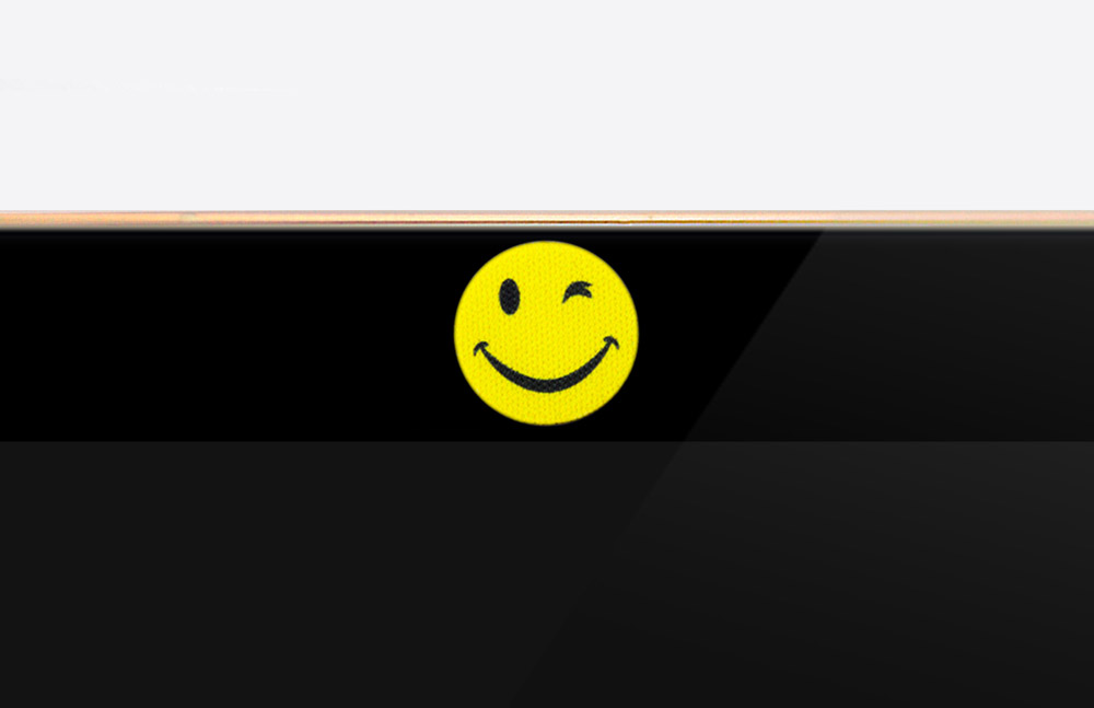Webcam-Cover SMILEY - 14mm